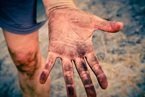 advantage of hydroponics - no dirty hands